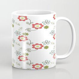 Ditsy Flower Chain Coffee Mug
