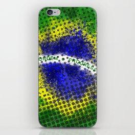 Brazil - Brazilian Flag iPhone Skin