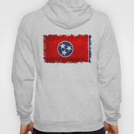 Tennessee State flag, Vintage version Hoody