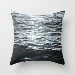 /sea. Throw Pillow