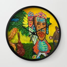 Father Daughter Dance Wall Clock