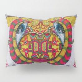 Simetria de un rostro Pillow Sham