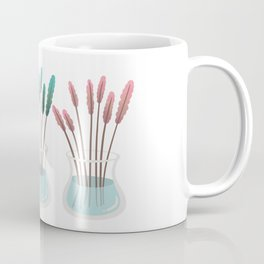 Flower vases, glass vase. Coffee Mug
