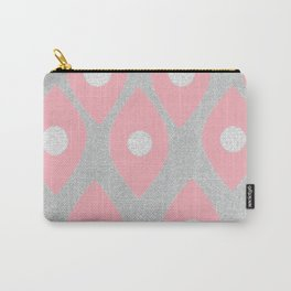 Eye Pattern Pink Carry-All Pouch