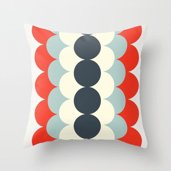 Gradual Modern Throw Pillow