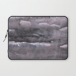 Gray nebulous wash drawing painting Laptop Sleeve