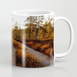 Larch Madness | Tamarack Trees in the Adirondack Mountains Coffee Mug