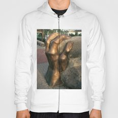 Fist by Shimon Drory Hoody