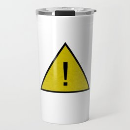 Caution Critical ! Travel Mug