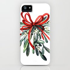 Branch of mistletoe Slim Case iPhone (5, 5s)