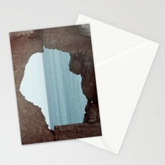 window to sea Stationery Cards