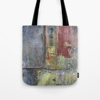 heavy metal Tote Bags featuring Heavy Metal by Bestree Art Designs