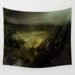 Rains Coming To The Bayou Wall Tapestry