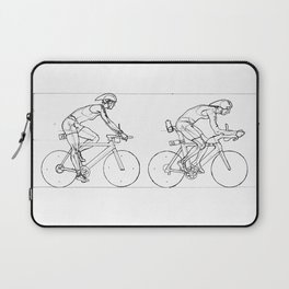 Transitions through Triathlon Cyclists Drawing A Laptop Sleeve