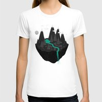 island T-shirts featuring island. by Louis Roskosch