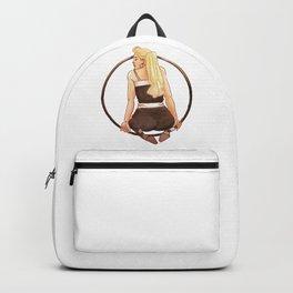 Vintage Hula Girl Backpack
