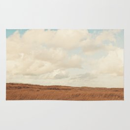 Clouds over the Field Rug