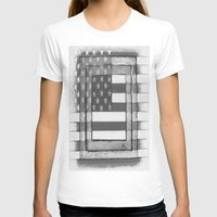 american flag T-shirts featuring American Flag by Steve Hester
