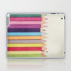 Colored Pencils Laptop & iPad Skin
