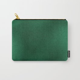 Color gradient and texture 62 dark green Carry-All Pouch