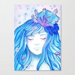 Colour theme - Blue Ocean Canvas Print
