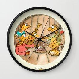 Cheeeeers! Wall Clock