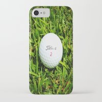 golf iPhone & iPod Cases featuring GOLF by Cooper Designs