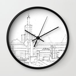 The Hague Netherlands LDS Temple Wall Clock