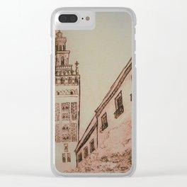 La Giralda Clear iPhone Case