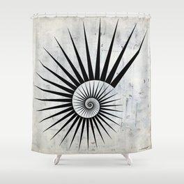 Fibonaaci Shower Curtain