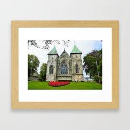 Stavanger Cathedral Framed Art Print