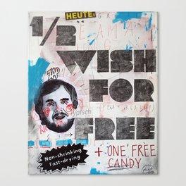 1/2 wish Canvas Print