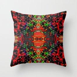 Energy Flow Throw Pillow