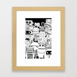 2. Mindless Framed Art Print
