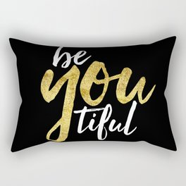 BE-YOU-TIFUL Rectangular Pillow