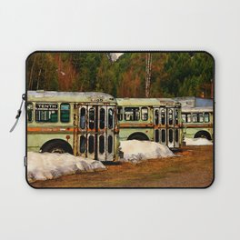 Bus Cemetery Laptop Sleeve