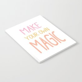 Colorful Inspiration Notebook
