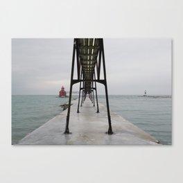 North Pierhead Canvas Print