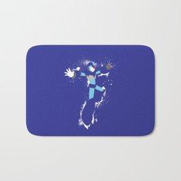 Mega Man X Splattery Design Bath Mat