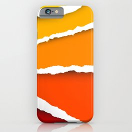 Paper abstract iPhone Case