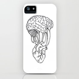 Mind and spirit connection iPhone Case