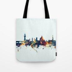 Florence Italy Skyline Tote Bag
