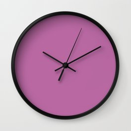 Spring Crocus - Fashion Color Trend Spring/Summer 2018 Wall Clock