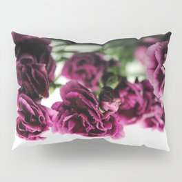 Purple Carnations Pillow Sham