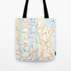 Attack of the Triangles. Tote Bag