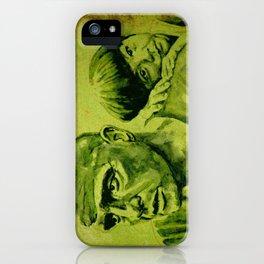 Marlon Brando and the girl iPhone Case