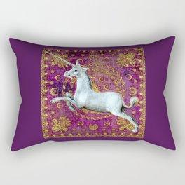 Unicorn - Garden of Beasts Collection Rectangular Pillow