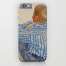 Carl Larsson - Esbjörn iPhone Case