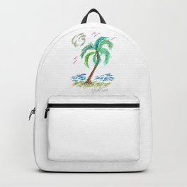 """Beach Afternoon"" Backpack"