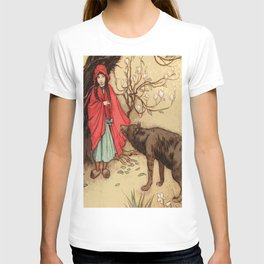 Little Red Riding Hood Warwick Goble T-shirt